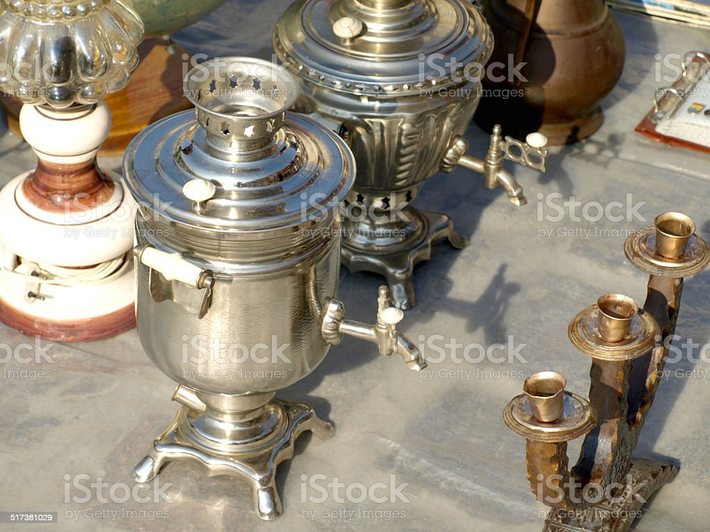 old items stock photo