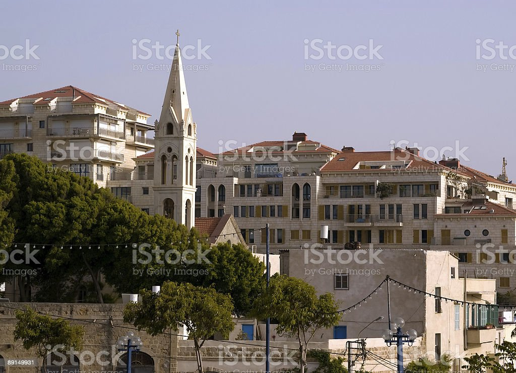 Old Jaffa view royalty-free stock photo