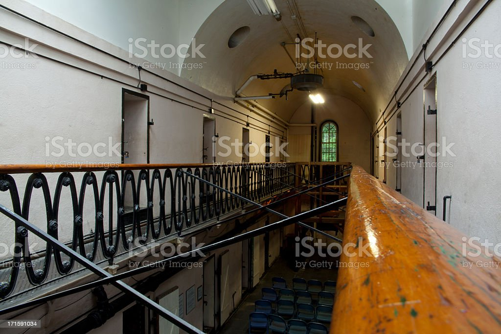 Old Jail prison of Mauch Chunk stock photo