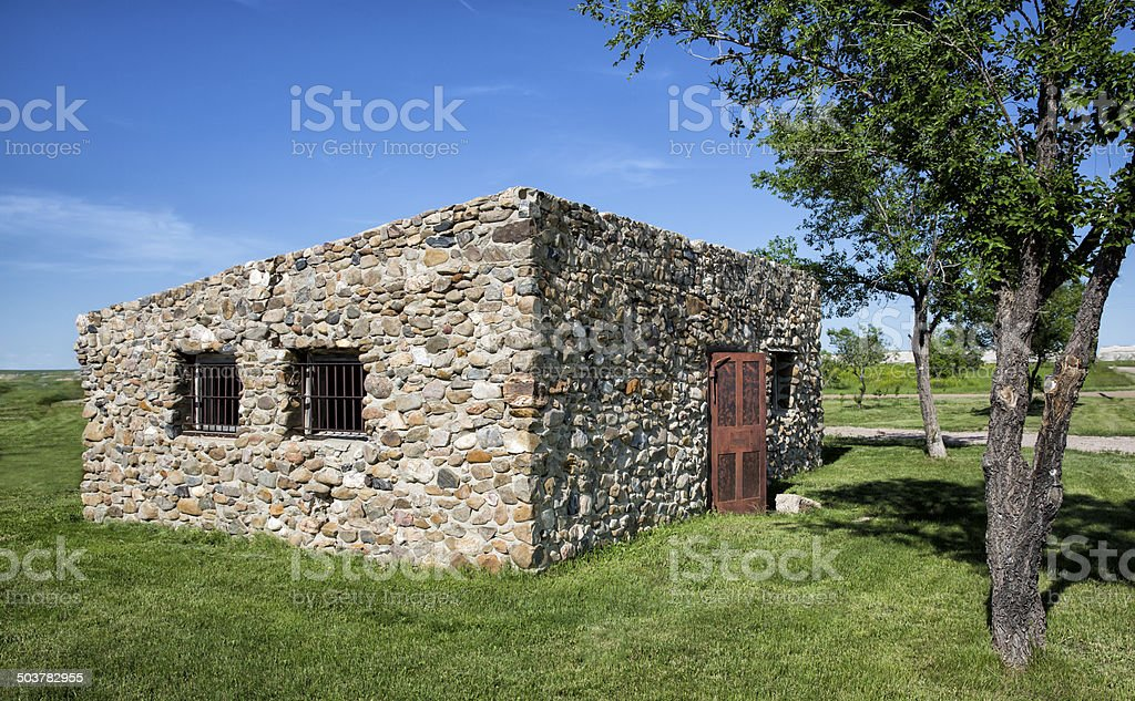 Old Jailhouse stock photo