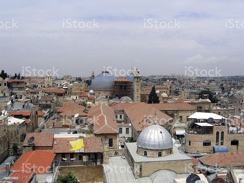 Old Jerusalem royalty-free stock photo