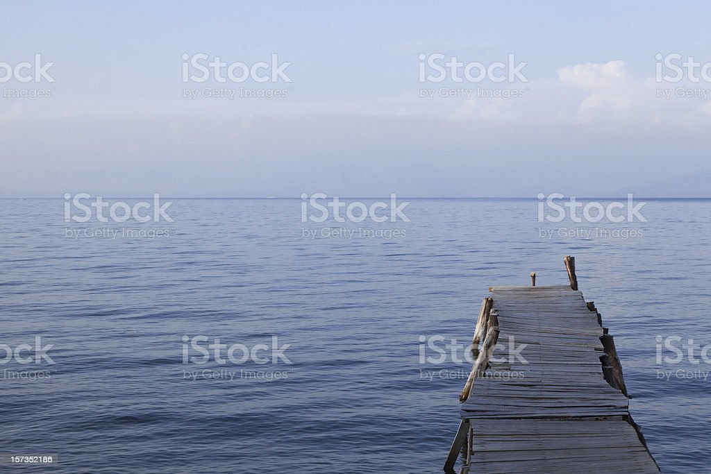 Old Jetty royalty-free stock photo