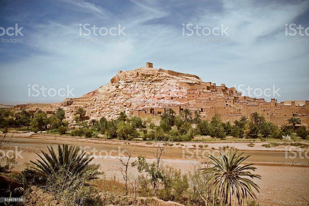 Old Kasbah in Morocco stock photo