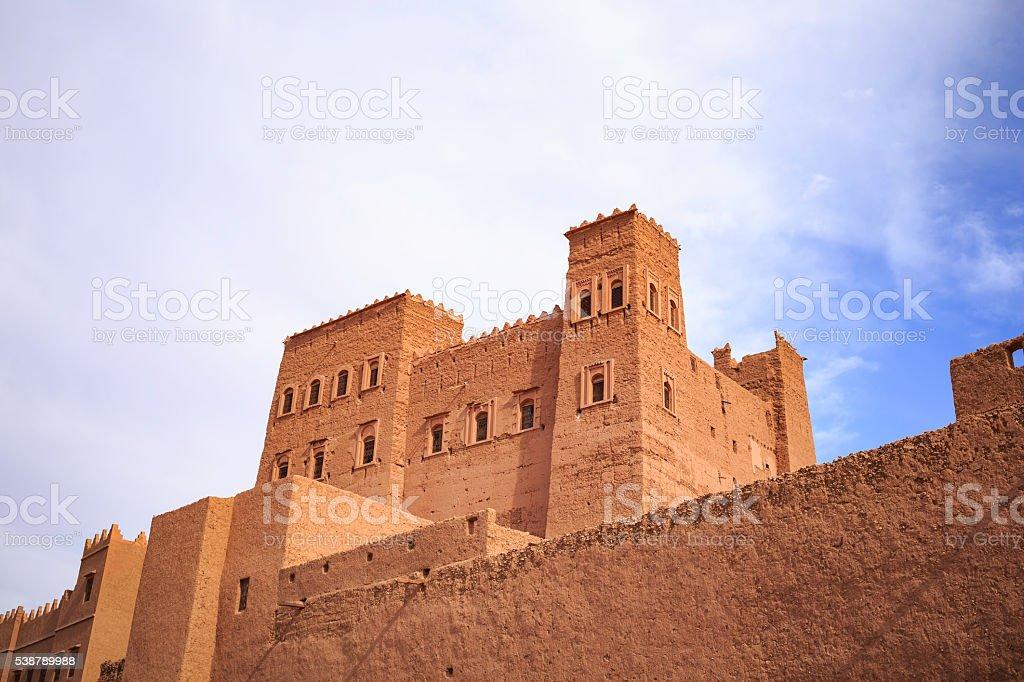 old kasbah stock photo