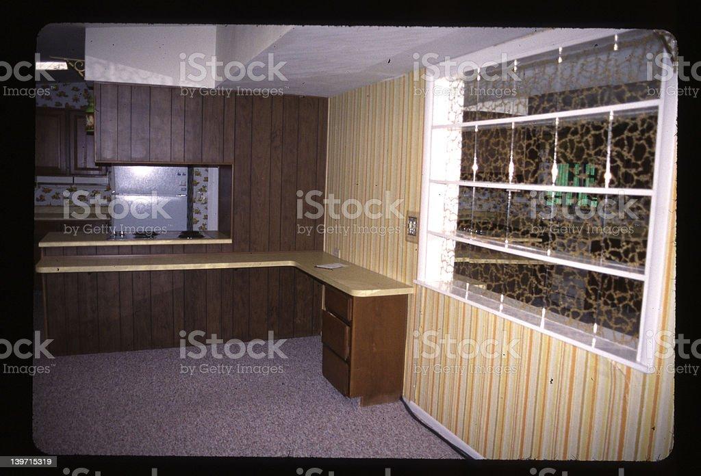 old kitchen royalty-free stock photo