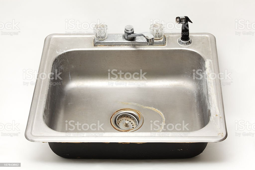 Old Kitchen Sink royalty-free stock photo