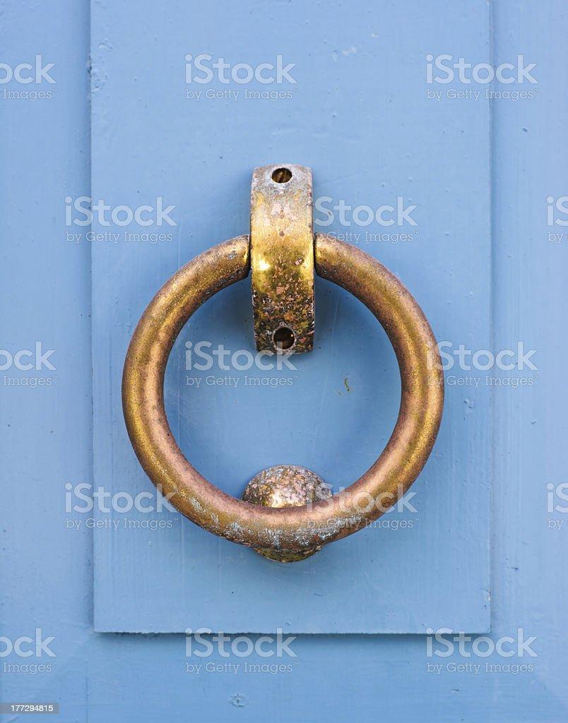 Old knocker stock photo