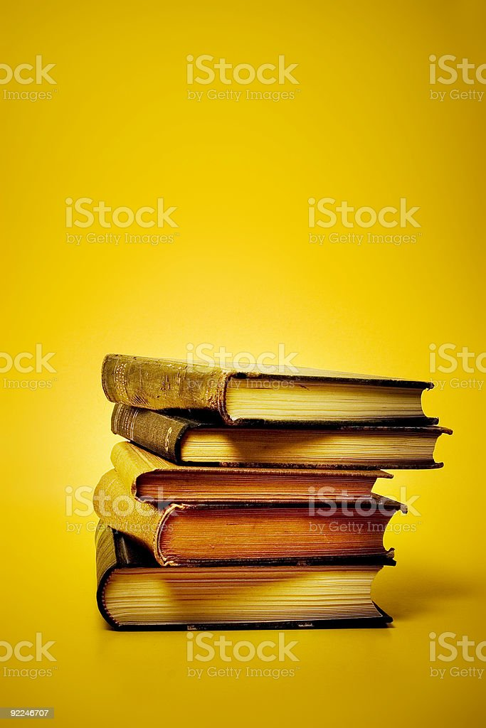 Old knowledge royalty-free stock photo