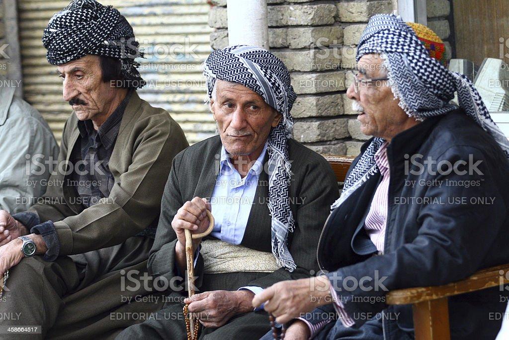 Old Kurdish Mans stock photo
