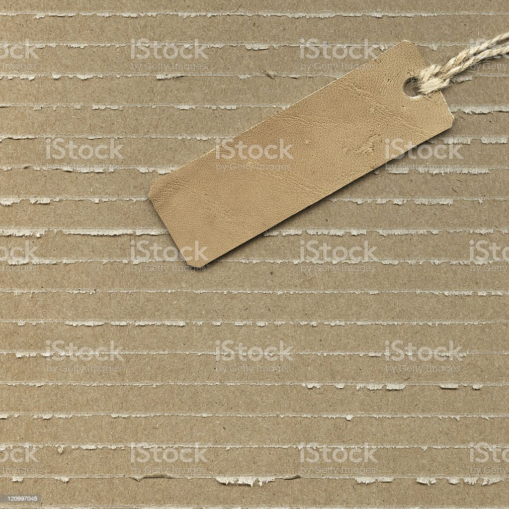 Old label royalty-free stock photo