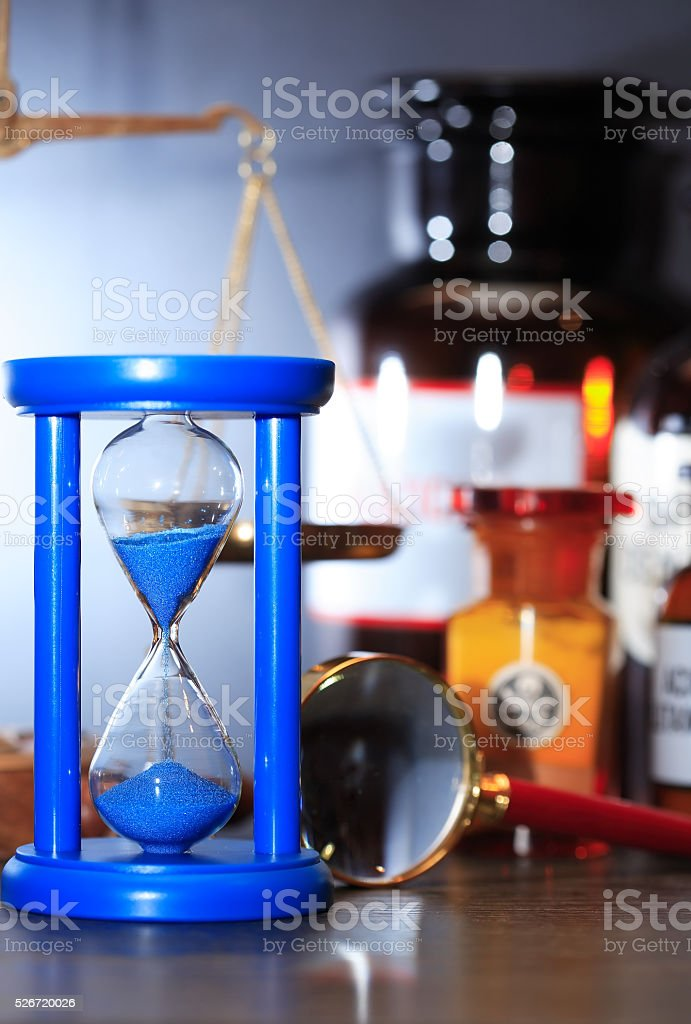 Old Laboratory Equipment stock photo