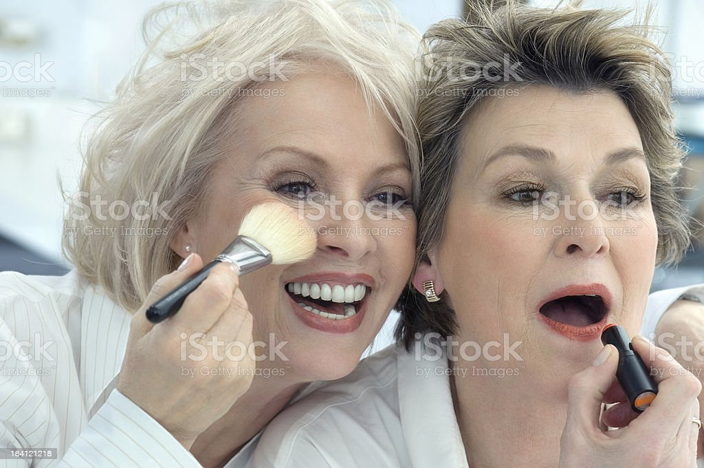 Old ladies royalty-free stock photo