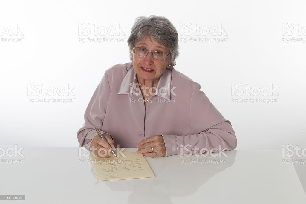 Old Lady royalty-free stock photo