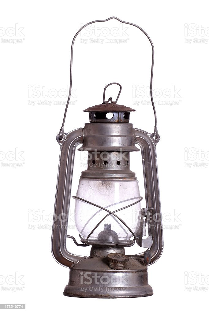 old lamp stock photo