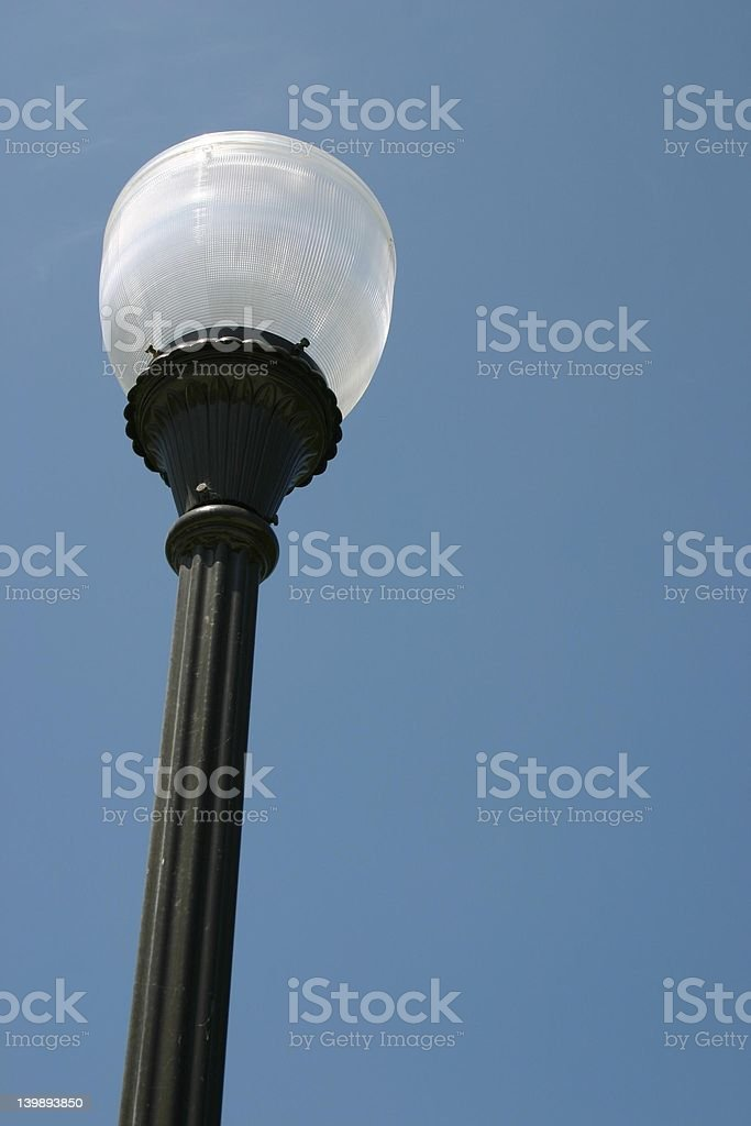 old lamp post royalty-free stock photo