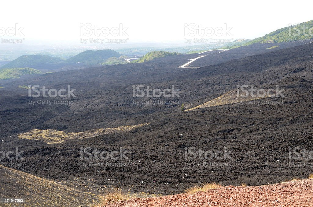 Old Lava Flow royalty-free stock photo
