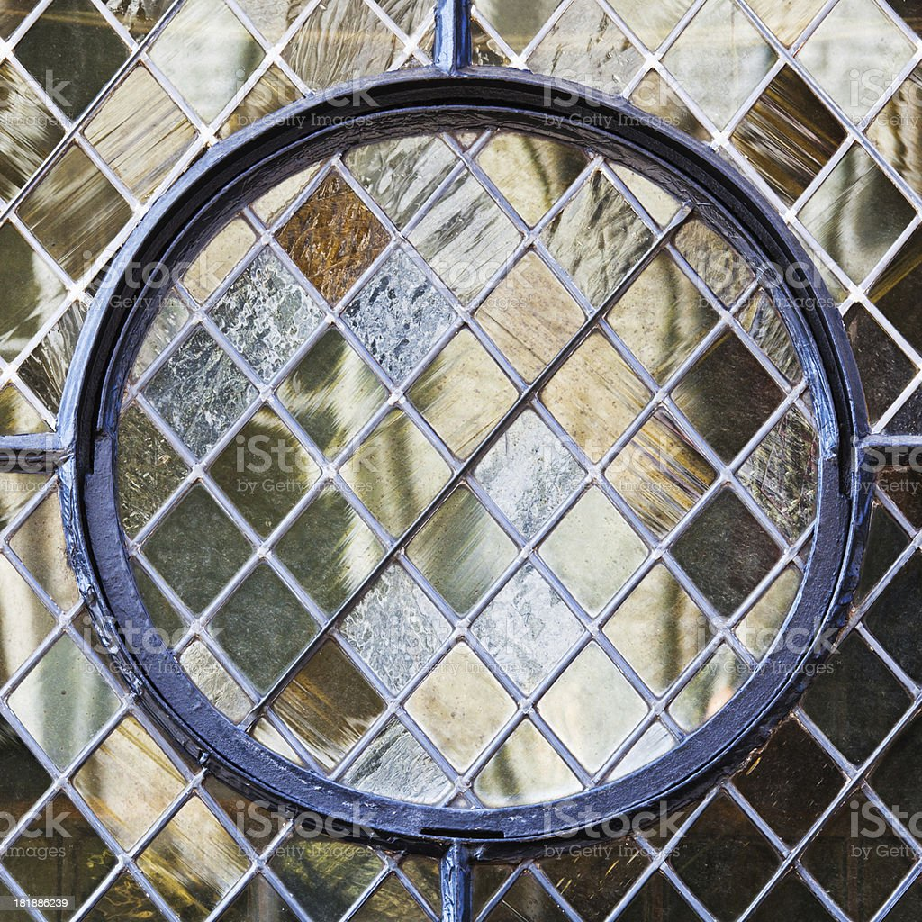 old lead glass stock photo