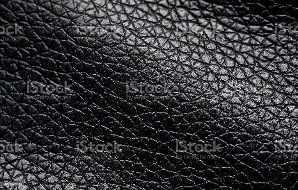 Old leather, black chamois texture royalty-free stock photo