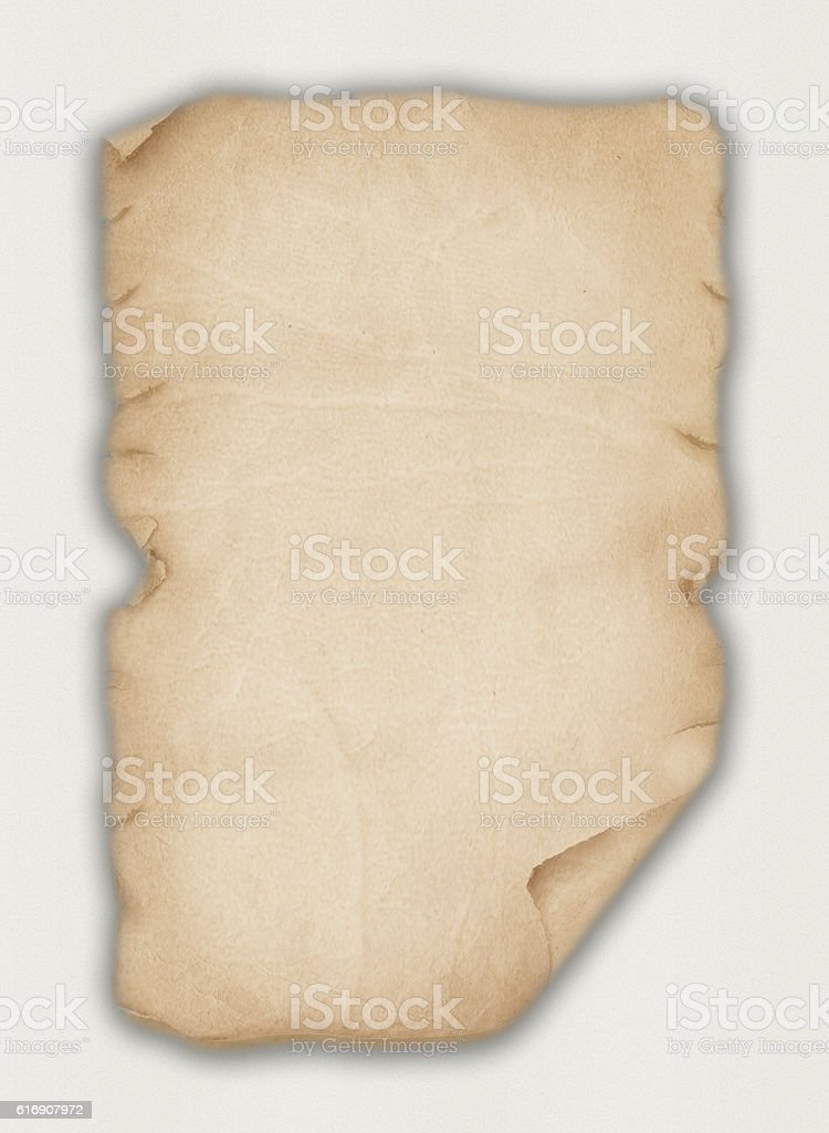Old Leather Paper stock photo