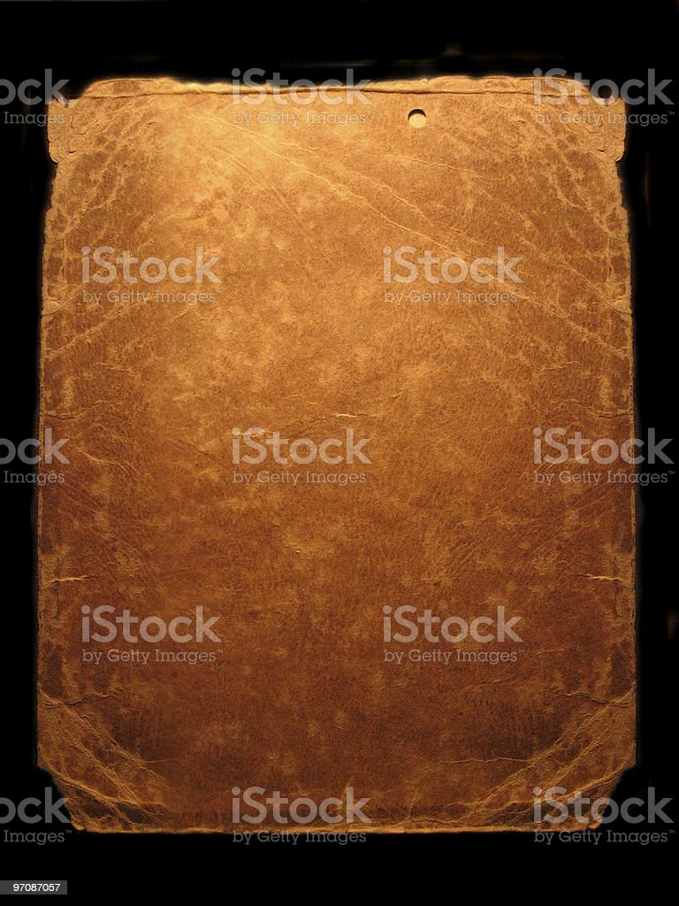 Old Leather. royalty-free stock photo