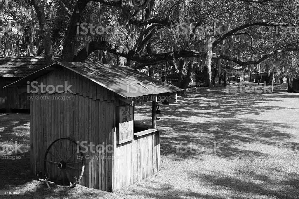 Old Lemonade Stand royalty-free stock photo