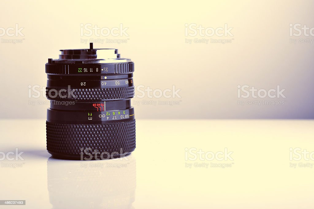 old lens royalty-free stock photo