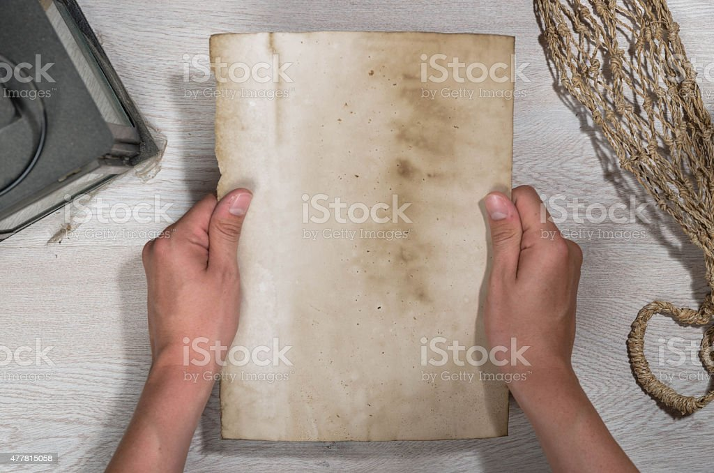 Old Letter Concept stock photo