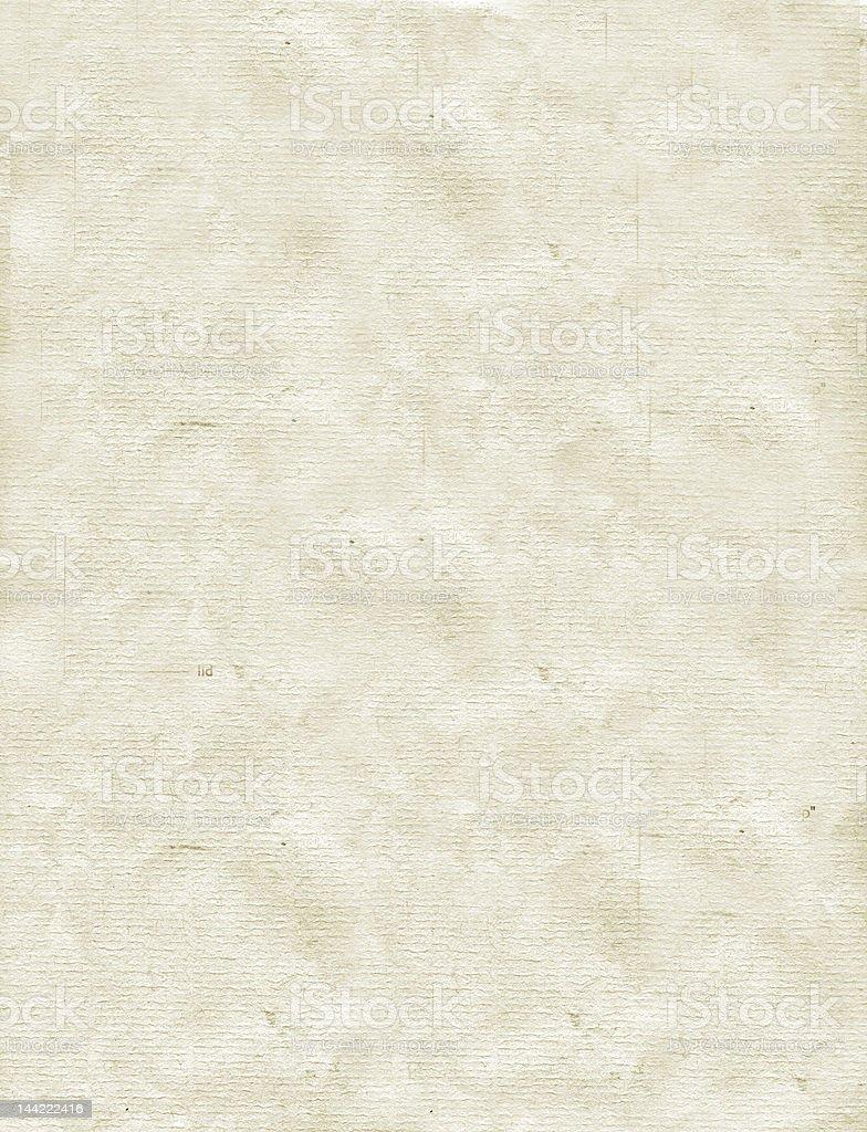 Old Letterhead stock photo