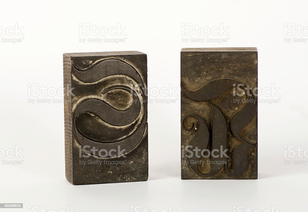 Old letters royalty-free stock photo