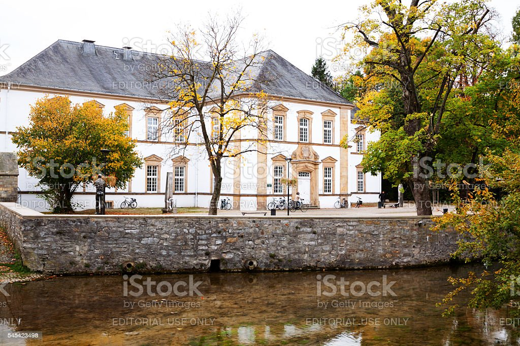 Old library of Paderborn stock photo