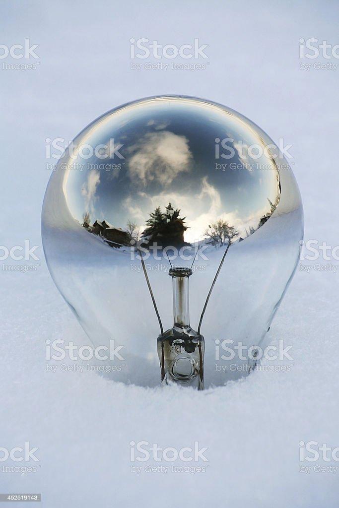 old light bulb stock photo