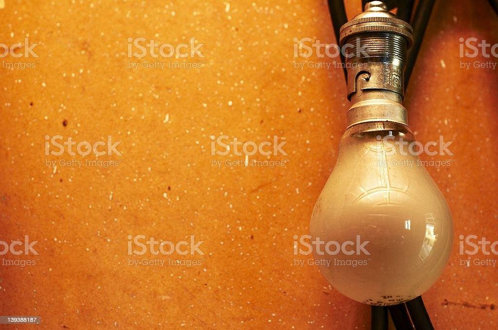Old Lightbulb royalty-free stock photo
