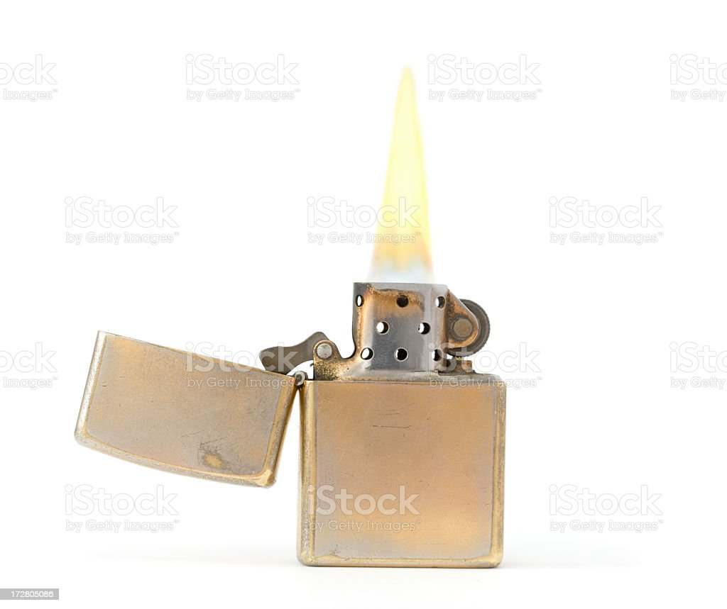 Old lighter stock photo