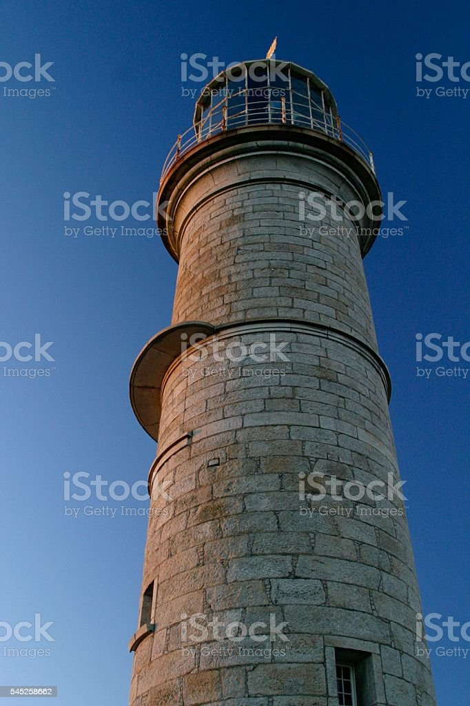 Old Lighthouse Close-up stock photo