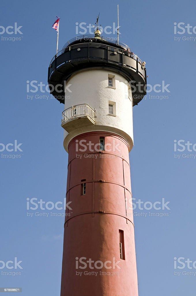 Old Lighthouse, Germany stock photo