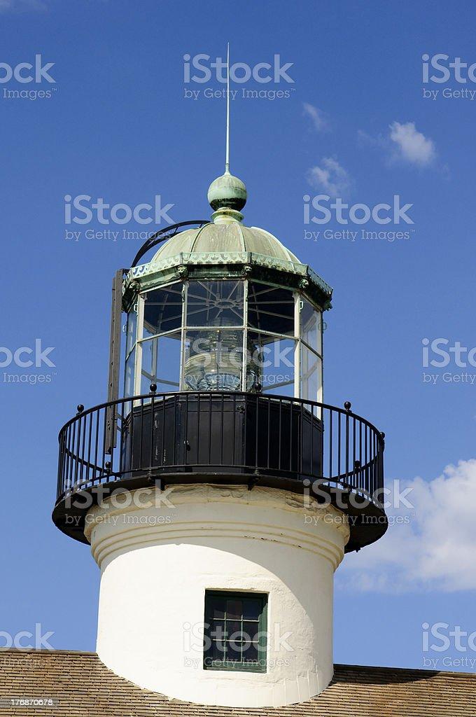 old lighthouse stock photo