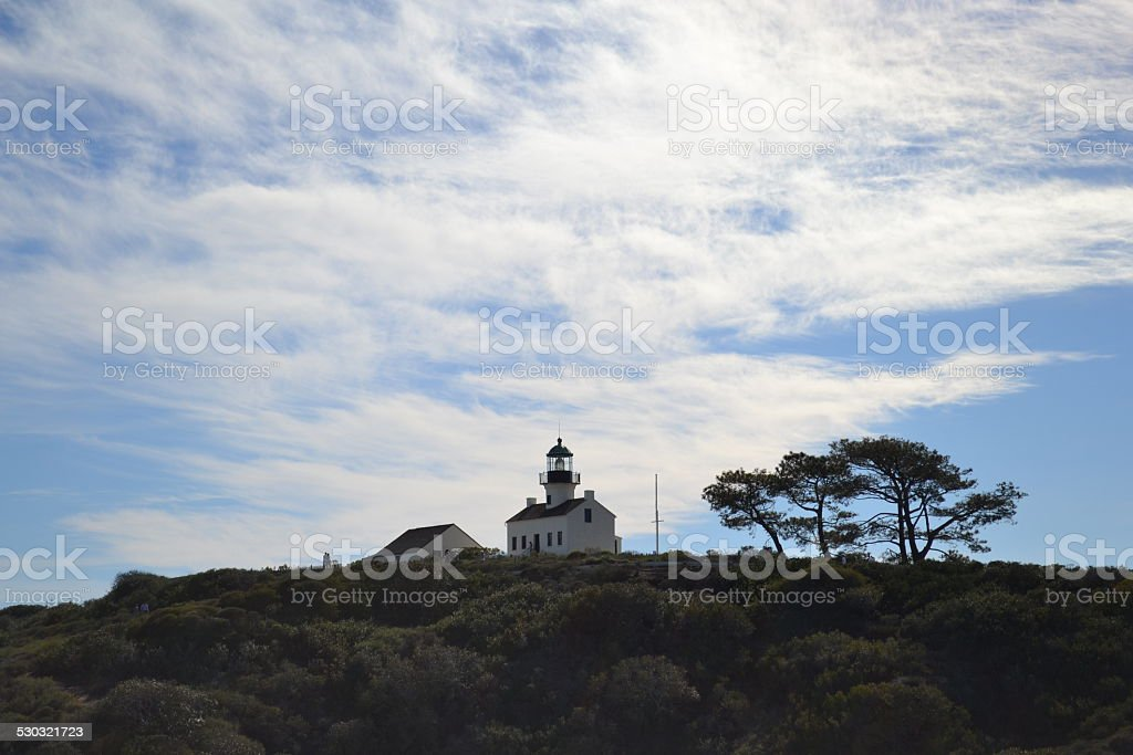 Old Lighthouse stock photo