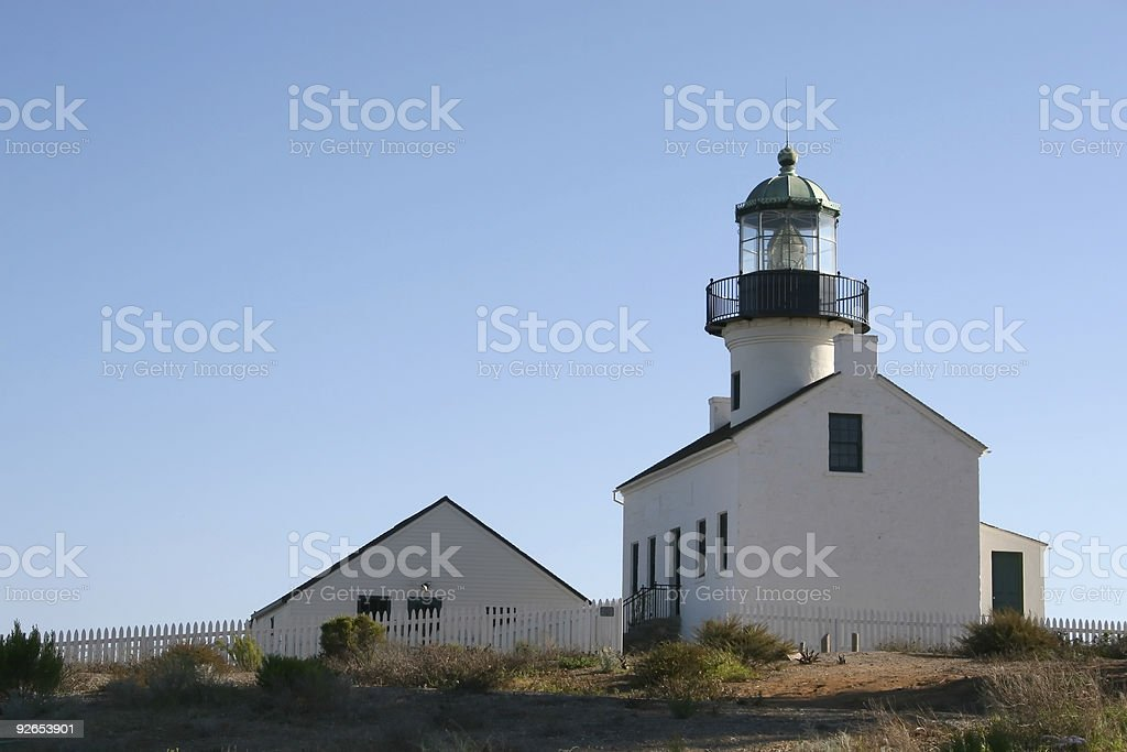 Old Lighthouse. royalty-free stock photo