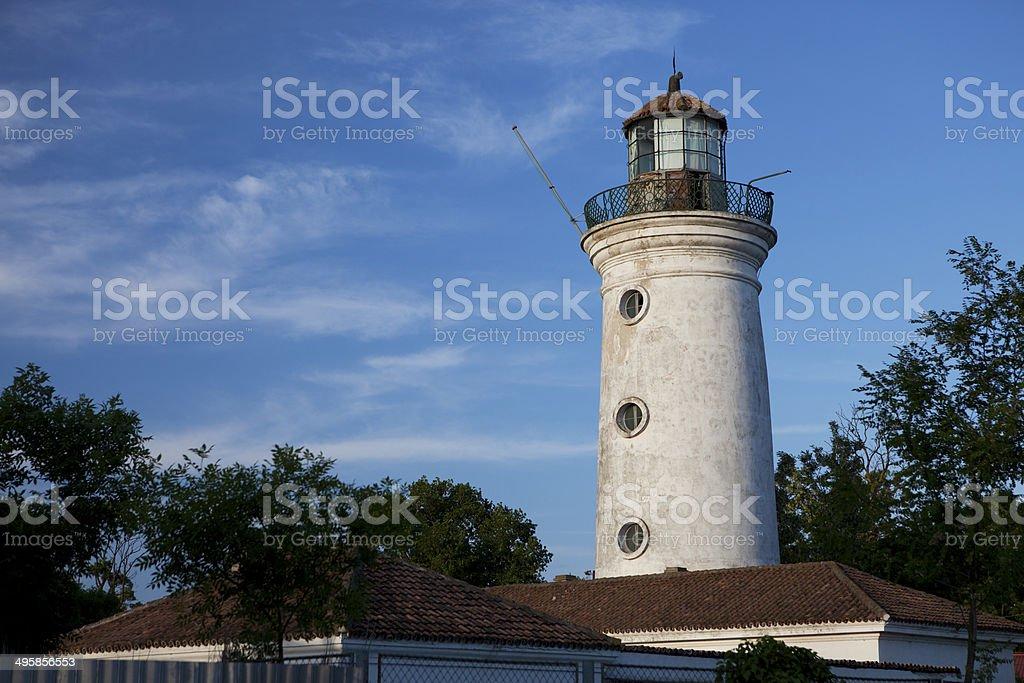 Old lighthouse, Sulina stock photo
