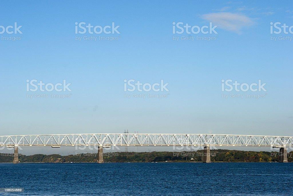 Old Little Belt Bridge royalty-free stock photo
