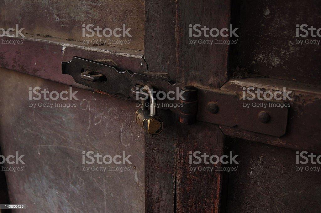 old lock royalty-free stock photo