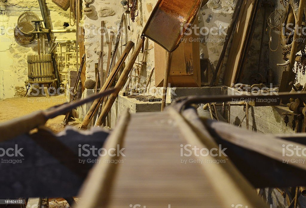 Old Loom royalty-free stock photo