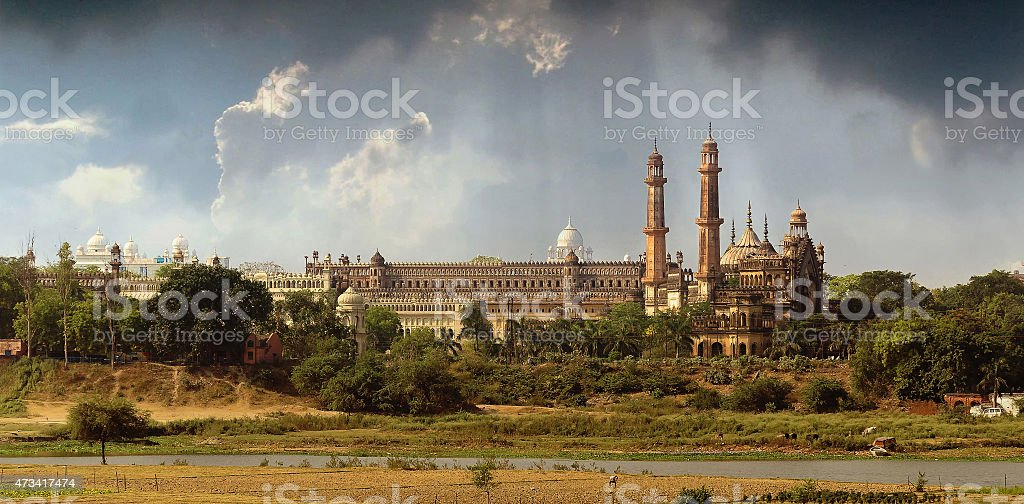 Old Lucknow stock photo