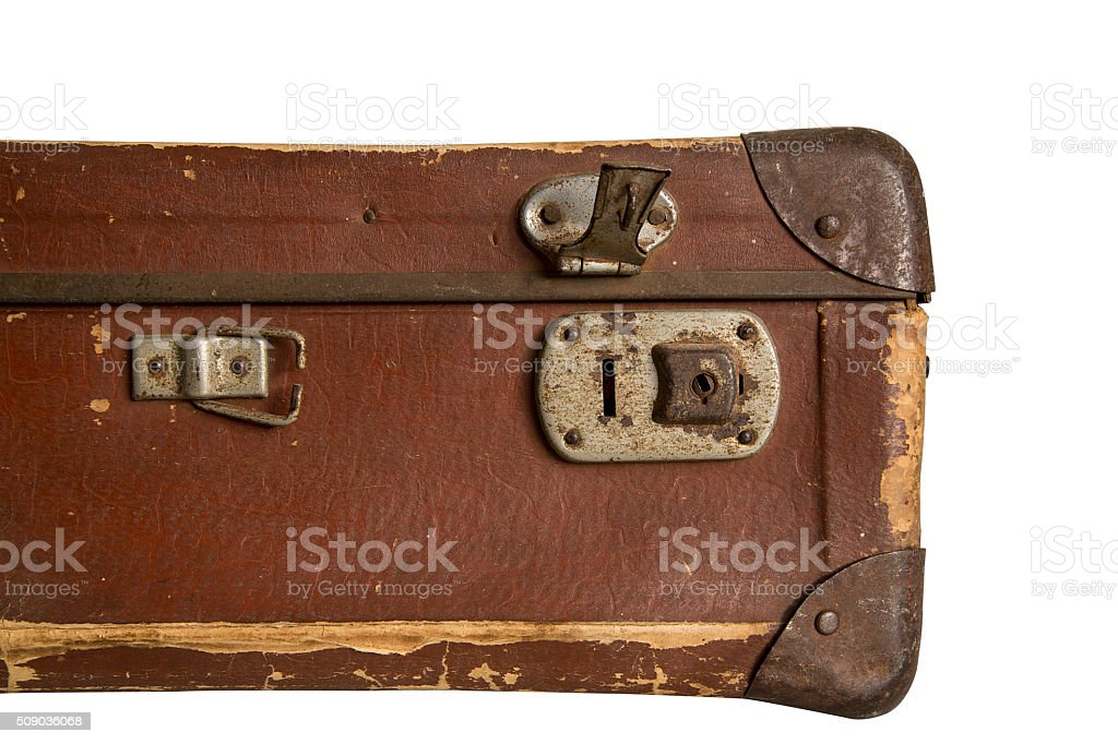 Old Luggage Close Up stock photo