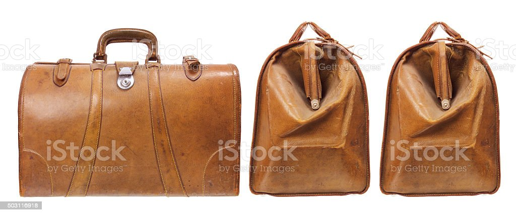 Old Luggages stock photo