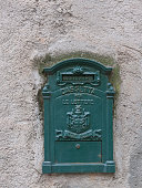 Old mailbox. Noli, Italy
