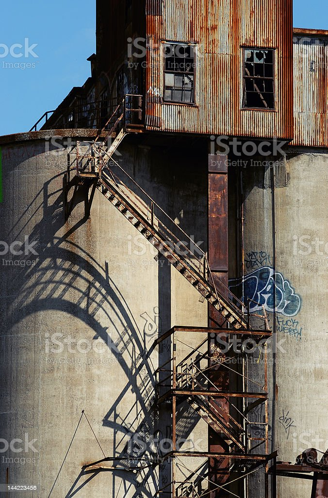 Old malt plant 12 royalty-free stock photo