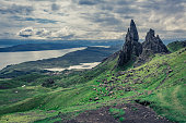 Old Man of Storr in Isle of Skye, Scotland
