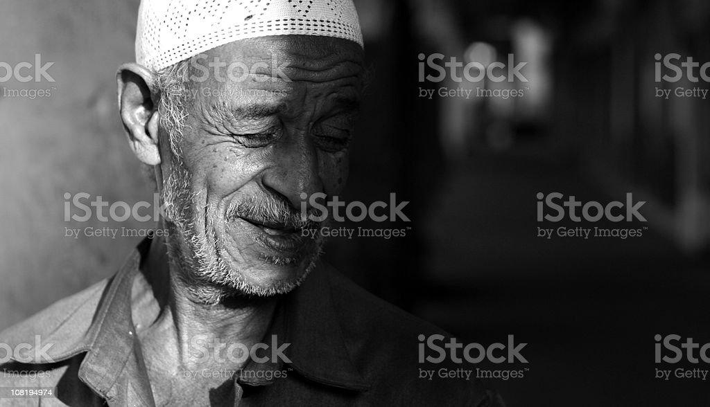 old man royalty-free stock photo