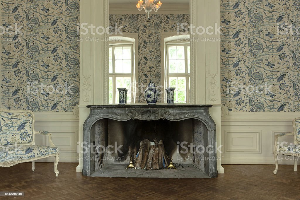 old manor house stock photo